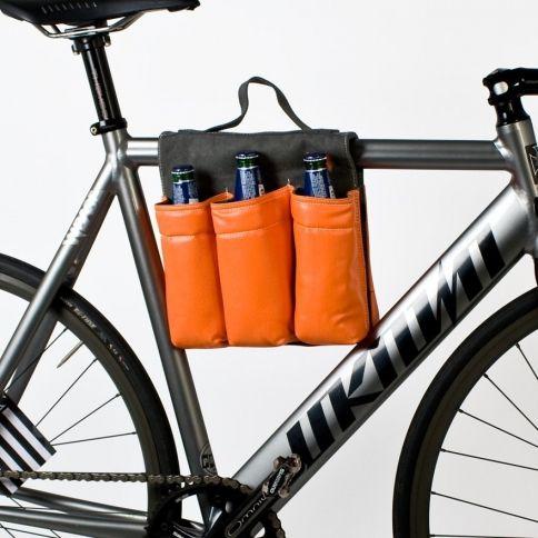 6-Bottle Bike Saddle Bag