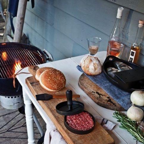 BBQ Set - Beef Press & BBQ Brush