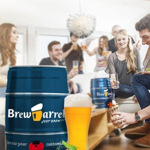 Brewbarrel Home Brewing Kit