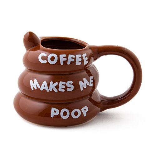 Coffee Makes Me Poop Muki