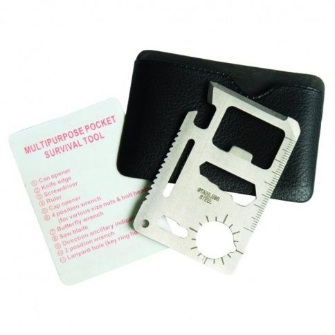 Luottokortti 10-in-1 Multitool