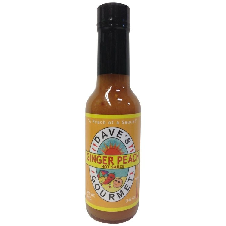 gourmet ginger peach hot sauce here s a sweet fruity and hot sauce ...