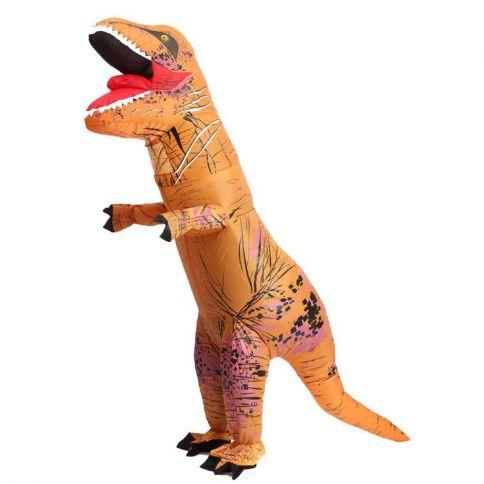 Itsetäyttyvä Dinosauruspuku