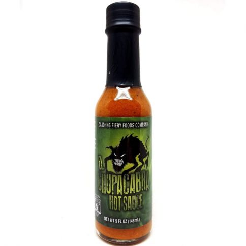Cajohn's El Chupacabra Hot Sauce