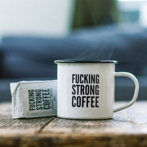 F*cking Strong Coffee & Muki Setti