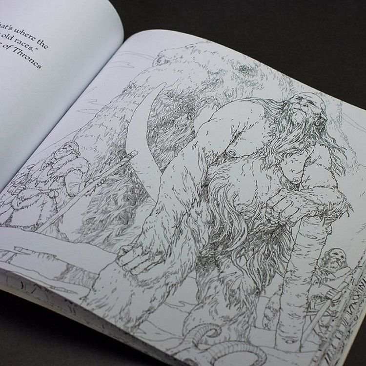 Thrones Colouring Book Review A Of Pulju Net