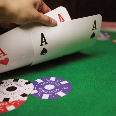 Jättiläisen Pokerisetti