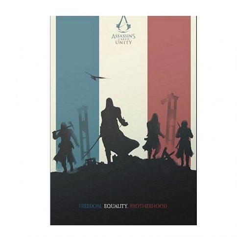 Assassin's Creed Juliste by Felix Tindall