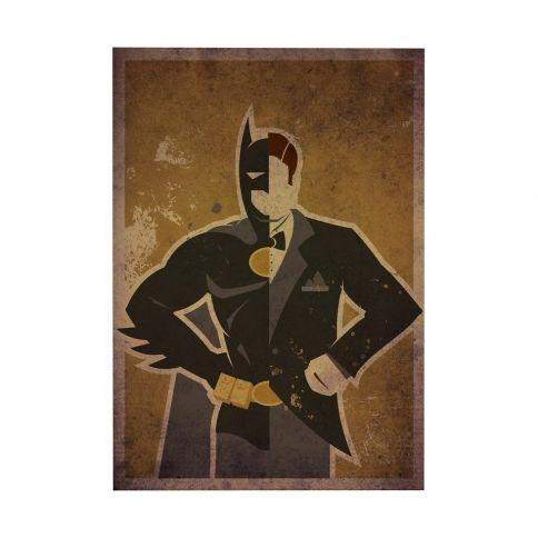 Bat Wayne Juliste by Danny Haas