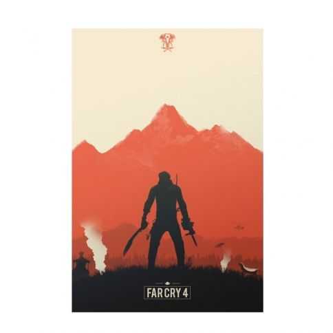 Far Cry Juliste by Felix Tindall