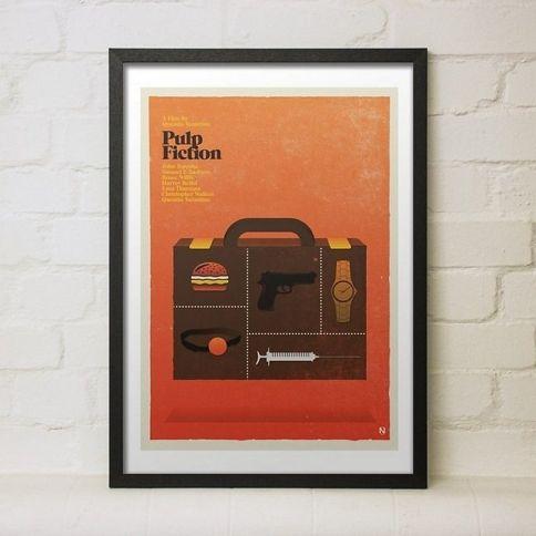 Pulp Fiction Juliste by Needle Design