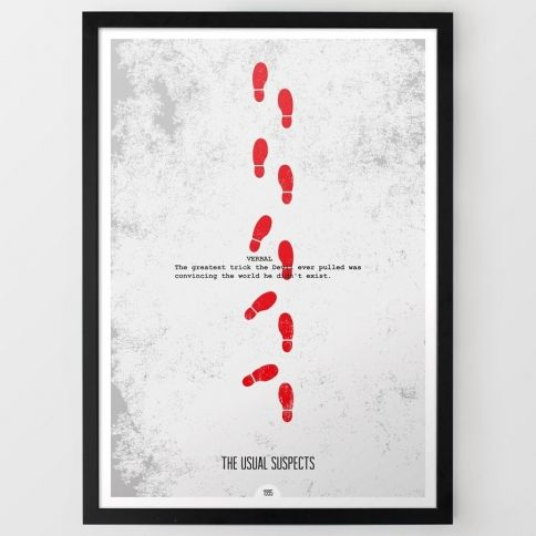The Usual Suspects Juliste By DopePrints