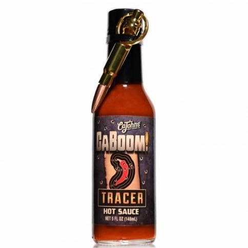 CaJohn's Caboom! Tracer Hot Sauce Luoti Avaimenperällä