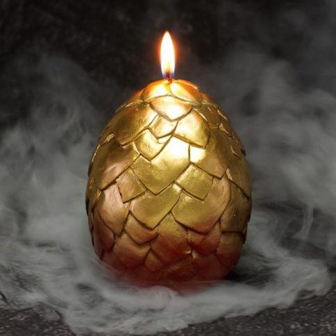 Kuoriutuva Lohikäärme Kynttilä