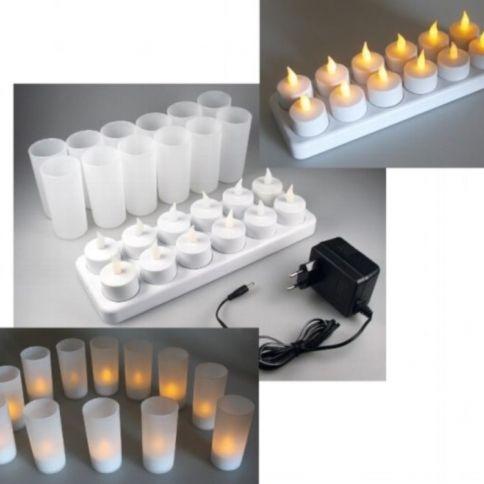 LED Kynttiläsetti 12 kpl