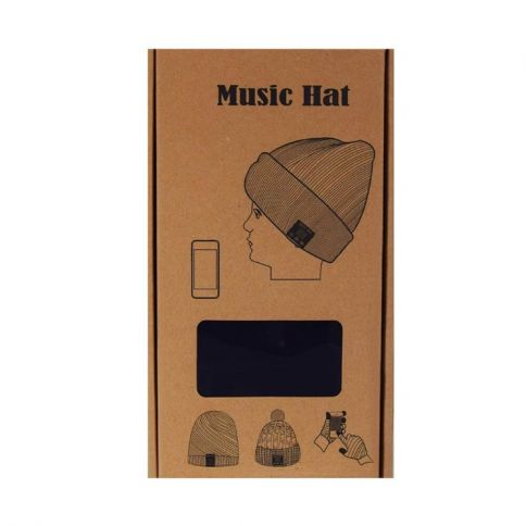 Music Hat Bluetooth Musiikkipipo