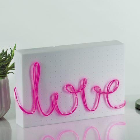 DIY Neonvalo Pinkki