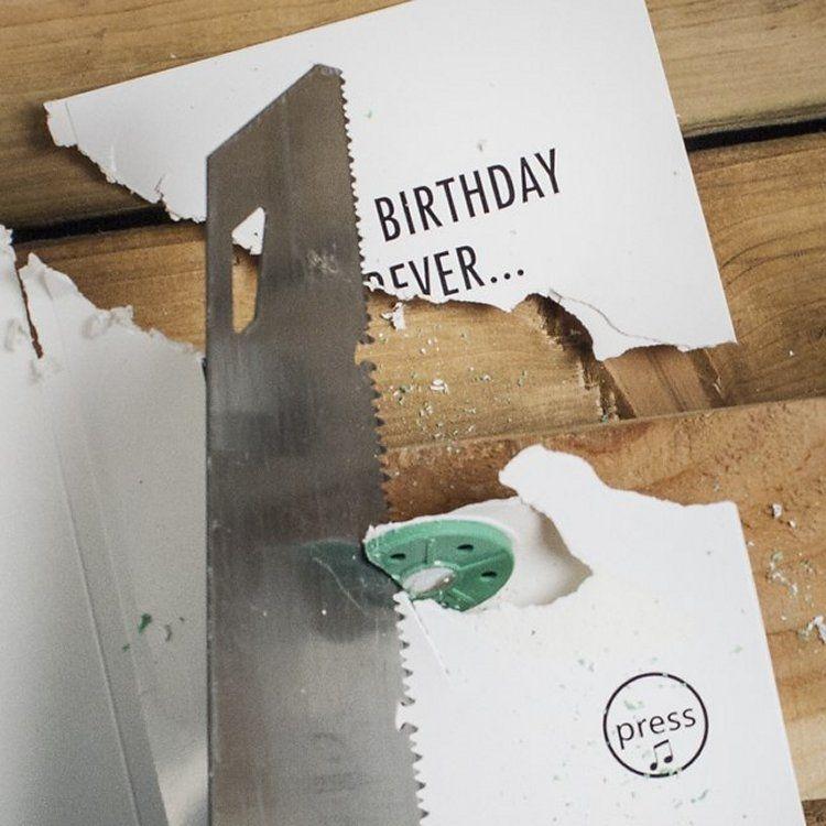 Never Ending Birthday Card Pulju