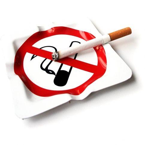 No Smoking-Tuhkakuppi