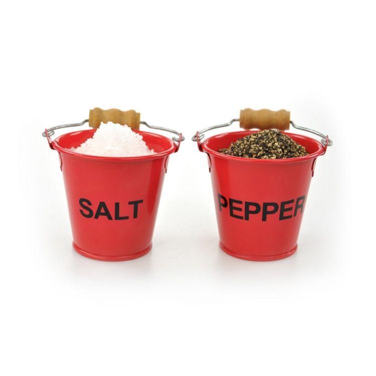 Fire Pinch Pots Salt Pepper