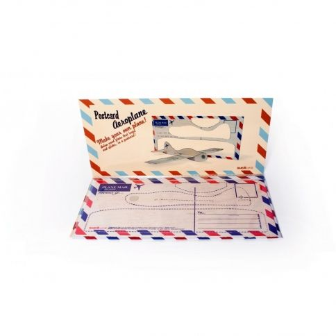 Postikortti- lentokone