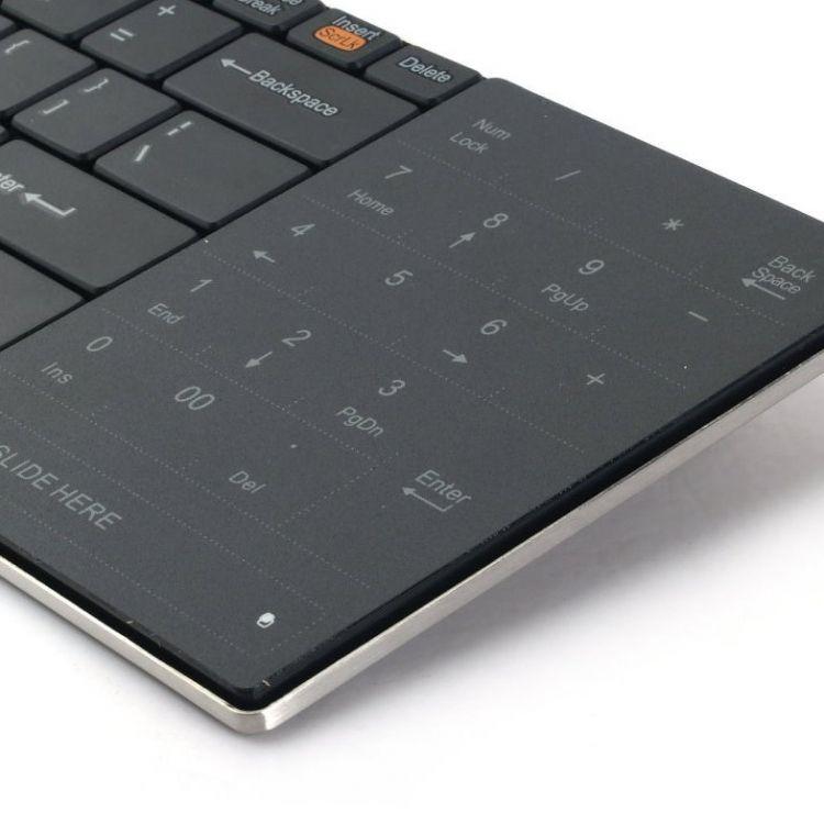 rapoo wireless touchpad keyboard e9080. Black Bedroom Furniture Sets. Home Design Ideas
