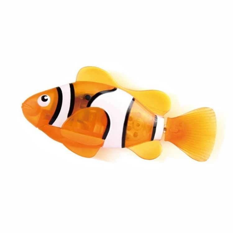 Robo fish cyber fish for Swimming fish cat toy