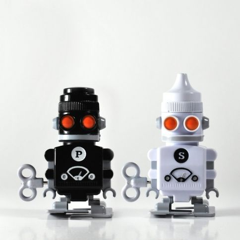 Salt pepper bots Salt and pepper robots