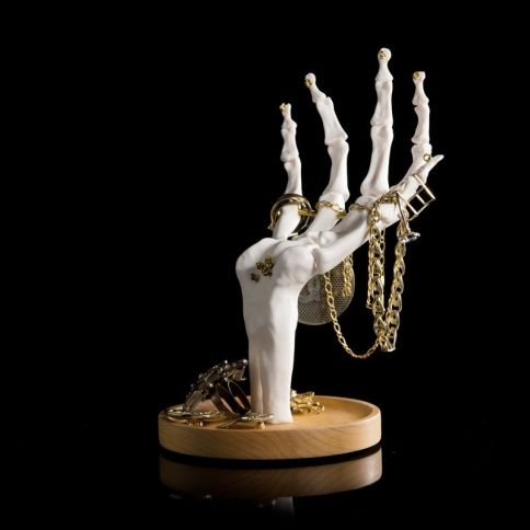 Skeleton Hand Jewellery Tidy Koruteline