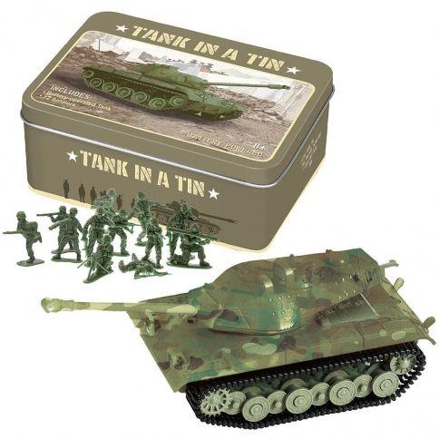 Tank In A Tin Pikkusotilaat ja Tankki