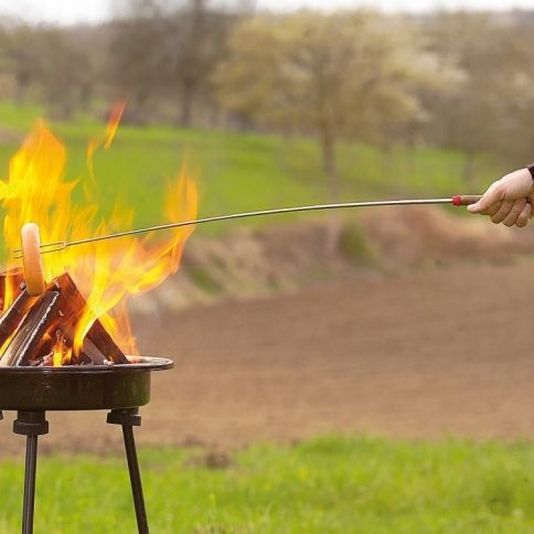 Telescopic Campfire Fork
