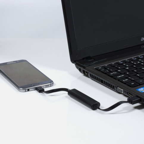 USB Charger With 500mAh Power Bank