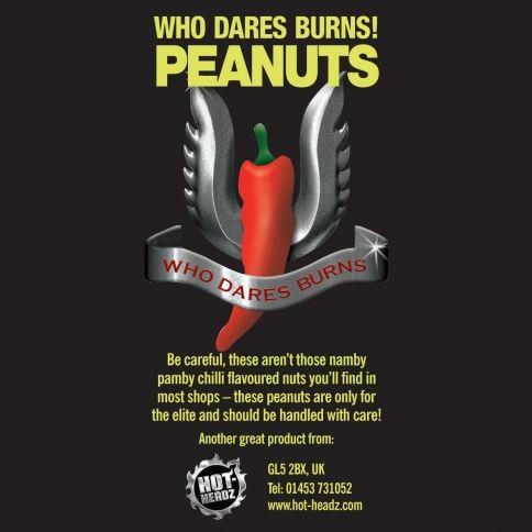 Who Dares Burns Pähkinät (80g)