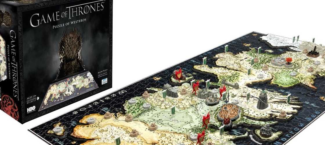4D Cityscape Game of Thrones