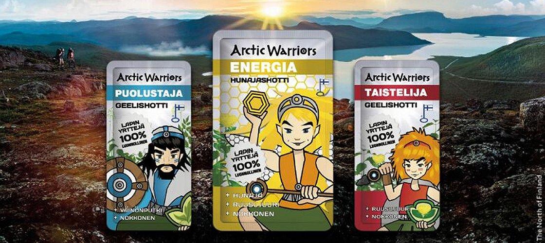 Arctic Warriors Energiashotit