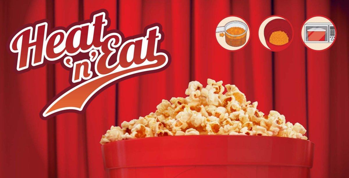 Popcorn Heat n Eat - €24,90