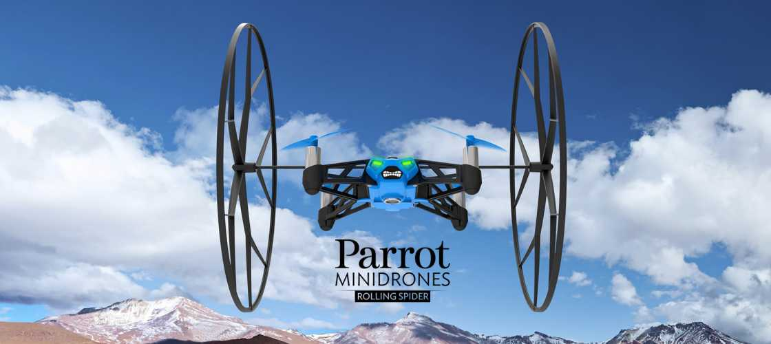 Parrot Rolling Spider - €129,00